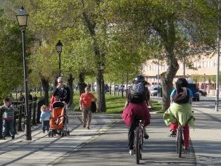 bici espaldas